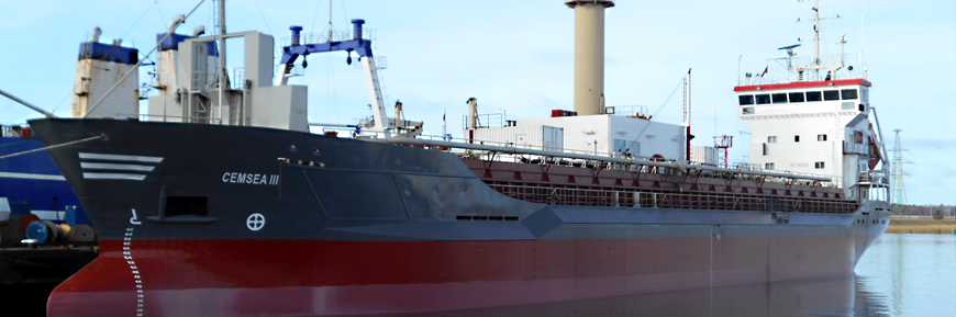 CEMSEA III - cement carrier with selfdischarging system