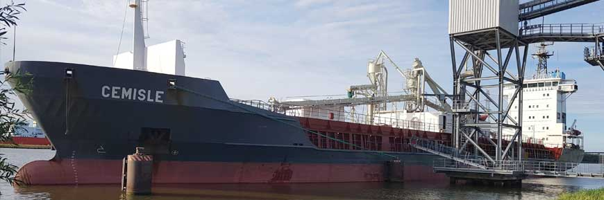 Cemisle - selfdischarging cement carrier